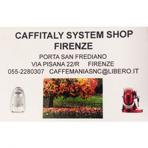 caffitaly shop firenze toscana pride park